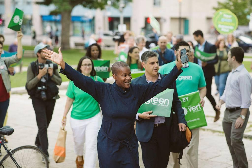 Annamie Paul est la nouvelle cheffe du Parti vert du Canada